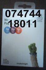 Three 3 Sim Card Standard Micro Nano Good Gold mobile phone number new 74 744