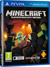 Minecraft Sony Playstation PS Vita Excellent - 1st Class Delivery
