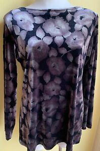 NZ Designer VSSP Velvet Top Size 12