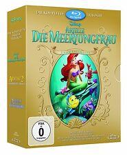 3 Blu-ray - Arielle, die Meerjungfrau - Trilogie - Walt Disney - NEU + Schuber