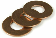 Silicon Bronze Flat Washer 1/4, Qty 50