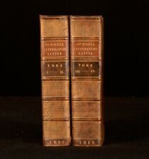 1815 2vols Histoire Abregee de la Litterature Romaine Bound in Two Volumes