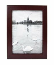 Golden State Art, Mahogany Photo Wood Collage Frame with REAL GLASS (4X6)