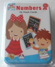 Kids Create Educational  learn their Numbers, 26 Flash Cards in Presentation Tin