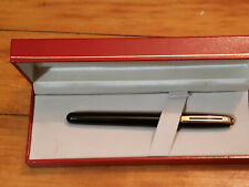 Sheaffer Prelude Fountain Pen in Black Gloss Finish with Gold Trim Fountain