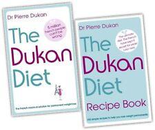 The Dukan Diet Recipe 2 Book Collection Set Diet plan, weight loss, heathy eatin