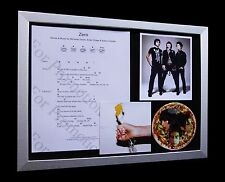 YEAH YEAH YEAH's Zero LIMITED Numbered CD FRAMED DISPLAY+EXPRESS GLOBAL SHIPPING