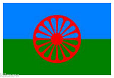 Gypsy (Romani Peoples) Flag 5ft x 3ft