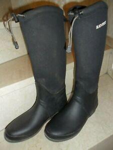 BLACK FOREST Gummistiefel, Stiefel, Größe 41, Schwarz, Neoprenschaft