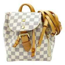 Louis Vuitton Sperone Bb 2018 White Damier Azur Canvas Backpack