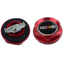 NEW OIL FILTER CAP For MITSUBISHI RALLIART BILLET ENGINE OIL CAP RED