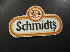 "SCHMIDT schmidts pabst vintage classic 3"" PATCH label craft beer brewery"