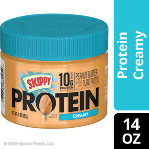 Skippy Peanut Butter Blended with Protein Creamy - 14oz