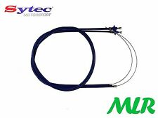 TWIN SYTEC THROTTLE CABLES WEBER DELLORTO CARBS WESTFIELD CATERHAM 7 LOCOST HQ2