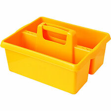 Wham YELLOW plastic handy kitchen cleaning tool box utility caddy storage tidy