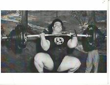 Weightlifting Photo Strongman Paul Anderson Bodybuilding Muscle B&W #6
