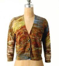 Anthropologie Charlie & Robin Hypsometric Tint Cardigan Sweater Multicolor S EUC