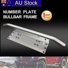 Number Plate Bullbar Frame For Driving Light Bar Mount Mounting Bracket UHF BF