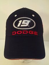 Jeremy Mayfield NASCAR Dodge 19 Strapback Hat Cap NEW W/Tag Chase Authentics