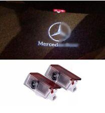 2x Mercedes Benz LED Proiettore Portiera Luci di cortesia OMBRA Pozzanghera LOGO