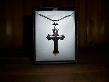 STAINLESS STEEL CROSS NECKLACE NEW MENS JEWELRY FASHION CHRISTIAN SYMBOL FAITH