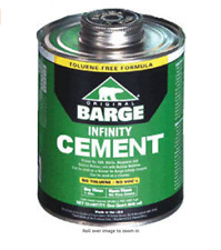 BARGE Infinity All-Purpose CEMENT Rubber Leather Shoe Glue 1 Qt