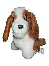 "Vintage Remco Toys 6"" Hush Puppies Bassett Hound Plush Dog Stuffed Animal"