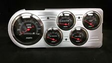 1948 1949 1950 FORD TRUCK 5 GAUGE DASH CLUSTER BLACK