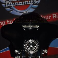 DRL Windshield Trim w/ Built In Turn Signals for Harley Davidson