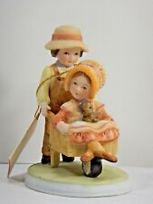 1979 Holly Hobbie Figurine Going Places Sweet Remembrance Collect. Series Ii