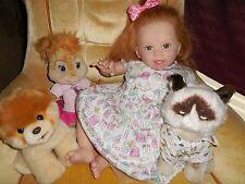 "Reborn Jordyn by Laura Tuzio Ross 24"" adorable baby girl Human hair glass eyes"