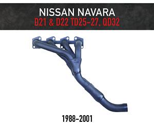 Headers / Extractors for Nissan Navara D21 & D22 - TD25, TD27, QD32 (1988-2001)