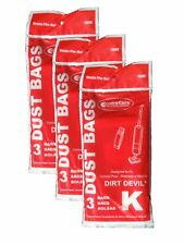 Royal Dirt Devil Stick Vac Type K Allergy Bags 9PK