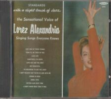 C.D.MUSIC  E315  LOREZ ALEXANDRIA : SINGING SONGS EVERYONE KNOWS    CD