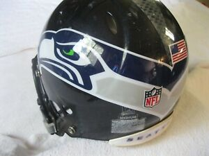 RARE Riddell Seattle Seahawks, Full Size Heavy Duty NFL Football Helmet