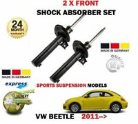 FOR VW BEETLE 1.2 1.4 2.0 TSI 2.5 1.6 2.0 TDI 2011-> 2X FRONT SHOCK ABSORBER SET