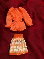 Mod Friends Christie Tangerine Scene Outfit - Barbie Repro Fashion