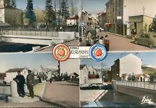 Carte BOURG MADAME Multivues du Pont International et de la Douane