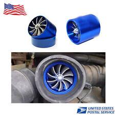Supercharger Power Air Intake Turbonator Single Fan Turbine Turbo Gas Fuel Saver