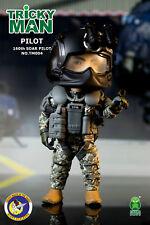"FigureBase 5""TRICKYMAN 160th SOAR ""Night Stalkers"" Magnetic base PILOT #TM004"