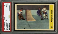 1958 PARKHURST~#11~AN OBJECT OF INTEREST JACQUES PLANTE, GEORGE ARMSTRONG~PSA 9