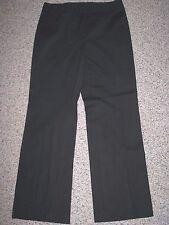 "ANN TAYLOR LOFT ""LAURA"" BLACK CASUAL PANTS 8 INSEAM 31.5"