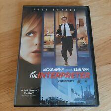 The Interpreter English/ French Version DVD Full Screen