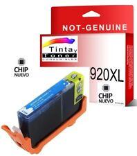 Cartucho Compat. con HP 920xl Cd972a cian