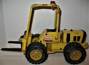 """Vintage 1976 or 7 Tonka Toy Forklift 11 7/8"""" long"""