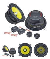 "Ground Zero GZTC 130 5.25"" 13cm 2 way car component speakers 80w RMS"