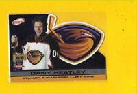 34736 DANY HEATLEY 2001/02 ATOMIC PREMIERE DATE THRASHERS CARD #41/90 $18.75 🏒