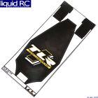 Team Losi Racing 331054 22 5.0 Chassis Protective Tape Printed Precut