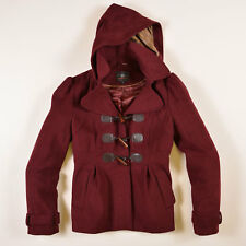 New Look Damen Jacke Jacket Gr.42 Wolle Wein Rot, 41569