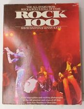 Rock 100 All-Stars From Rock & Roll's Hall of Fame AUTOGRAPHED  by LENNY KAYE
